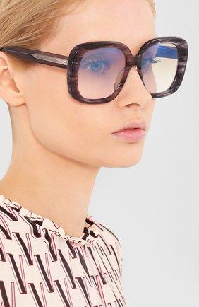 Мужские солнцезащитные очки OLIVER PEOPLES темно-синего цвета, арт. 5428SU-1688K6 | Фото 2