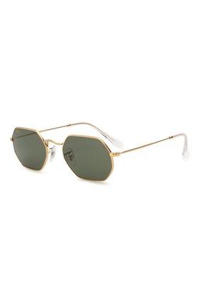 Мужские солнцезащитные очки RAY-BAN серого цвета, арт. 3556-919631   Фото 1