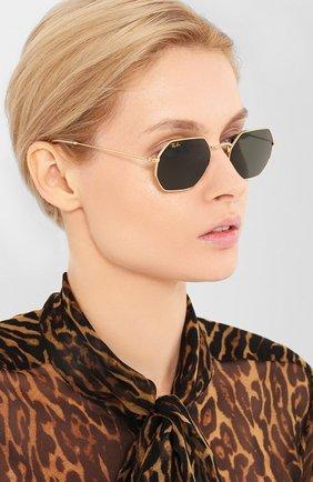 Мужские солнцезащитные очки RAY-BAN серого цвета, арт. 3556-919631   Фото 2