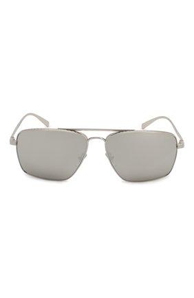 Женские солнцезащитные очки VERSACE серого цвета, арт. 2216-10006G | Фото 4