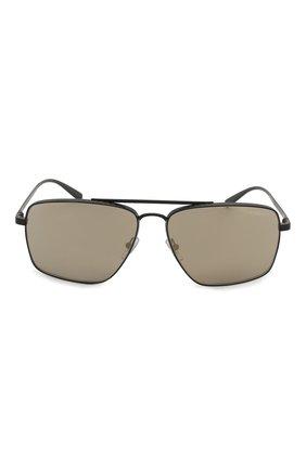 Женские солнцезащитные очки VERSACE серого цвета, арт. 2216-12615A | Фото 4