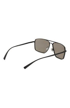 Женские солнцезащитные очки VERSACE серого цвета, арт. 2216-12615A | Фото 5