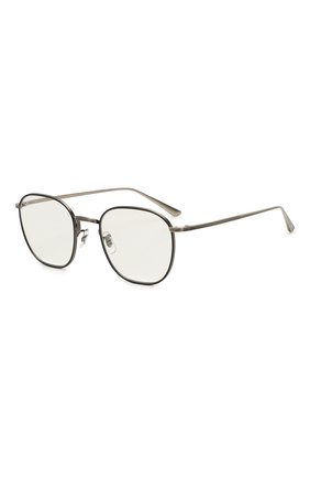 Мужские солнцезащитные очки OLIVER PEOPLES серебряного цвета, арт. 1230ST-50761W | Фото 1