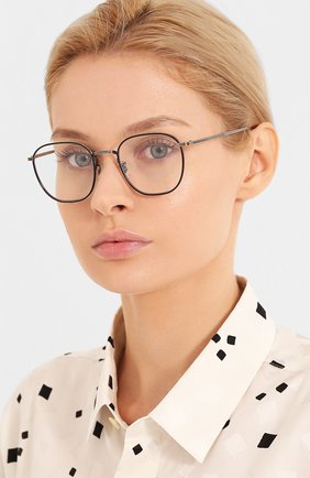 Мужские солнцезащитные очки OLIVER PEOPLES серебряного цвета, арт. 1230ST-50761W | Фото 2
