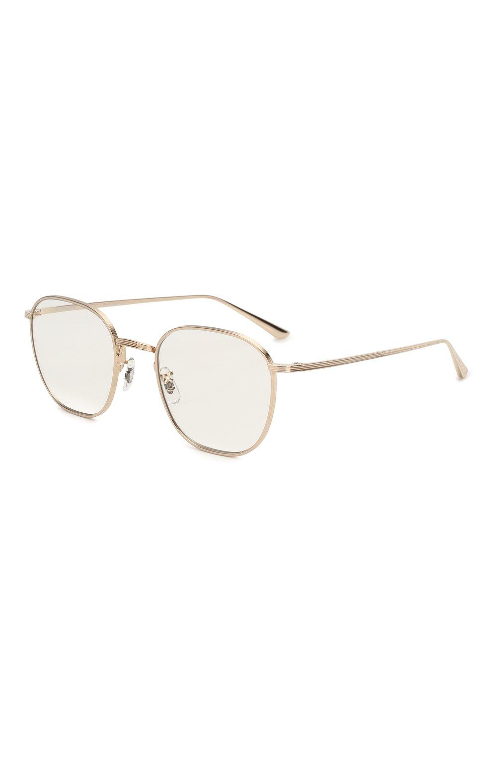 Женские солнцезащитные очки THE ROW X OLIVER PEOPLES золотого цвета, арт. 1230ST-52921W   Фото 1 (Тип очков: С/з; Очки форма: Круглые; Оптика Гендер: оптика-унисекс)