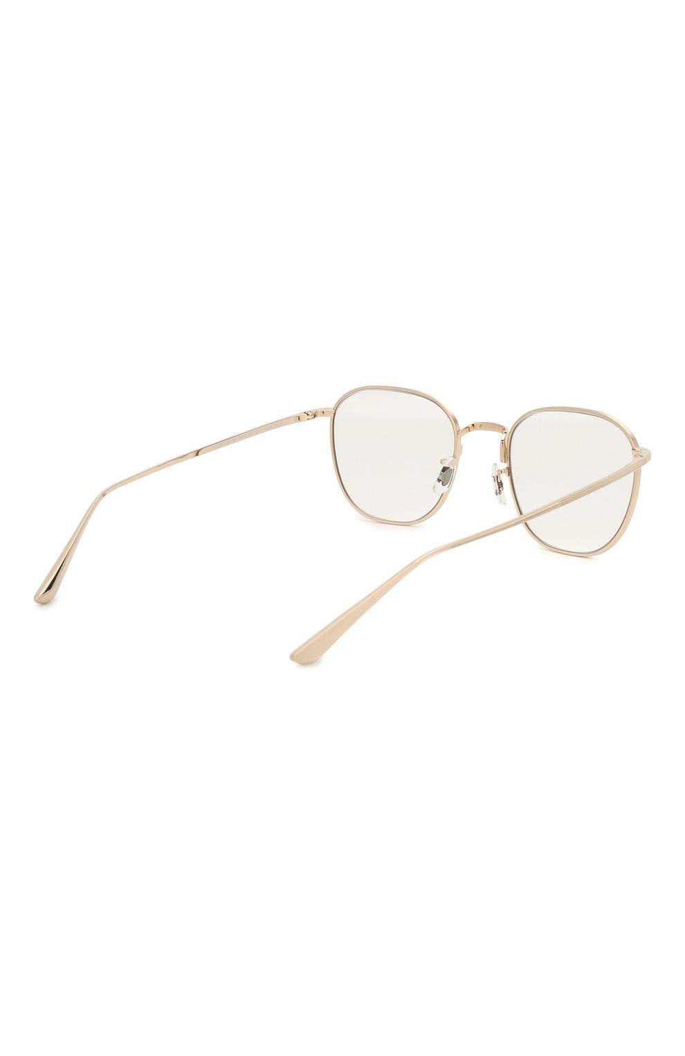 Женские солнцезащитные очки OLIVER PEOPLES золотого цвета, арт. 1230ST-52921W | Фото 5