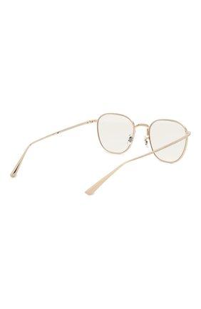 Женские солнцезащитные очки THE ROW X OLIVER PEOPLES золотого цвета, арт. 1230ST-52921W   Фото 5 (Тип очков: С/з; Очки форма: Круглые; Оптика Гендер: оптика-унисекс)