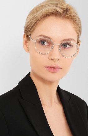 Мужские солнцезащитные очки OLIVER PEOPLES серебряного цвета, арт. 1231ST-50361W | Фото 2
