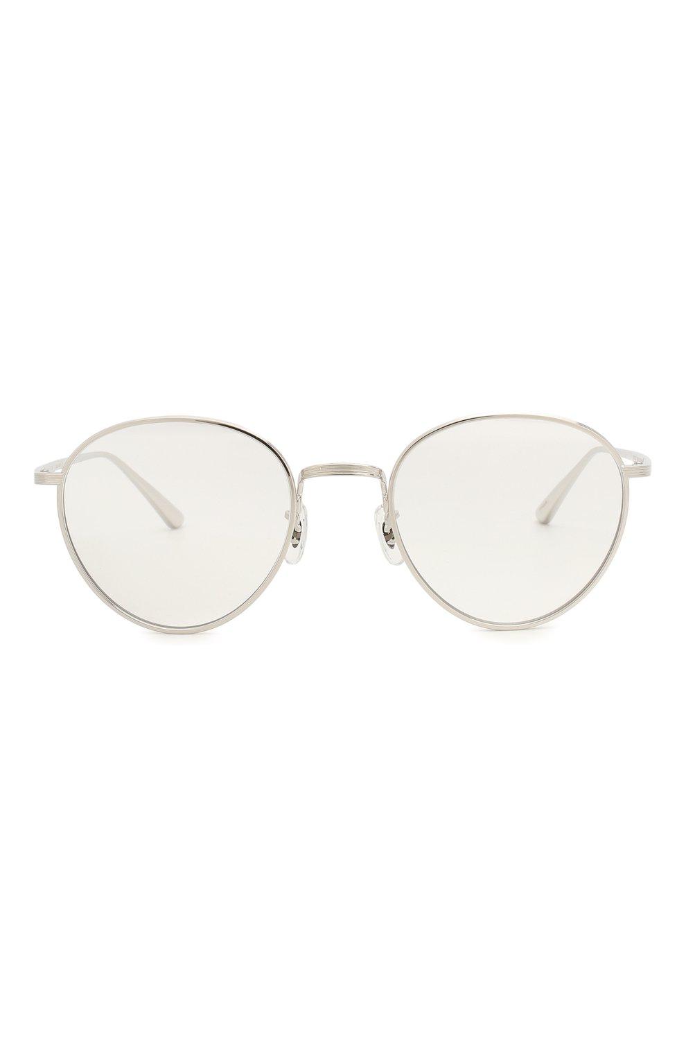 Женские солнцезащитные очки OLIVER PEOPLES серебряного цвета, арт. 1231ST-50361W   Фото 4