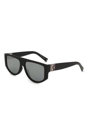 Женские солнцезащитные очки GIVENCHY черного цвета, арт. 7156 003   Фото 1 (Тип очков: С/з; Очки форма: D-форма, Прямоугольные; Оптика Гендер: оптика-женское)