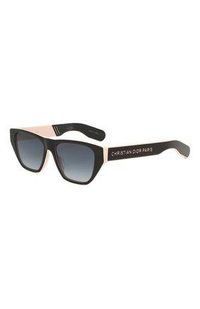Женские солнцезащитные очки DIOR черного цвета, арт. DI0RINSIDE0UT2 3H2 | Фото 1