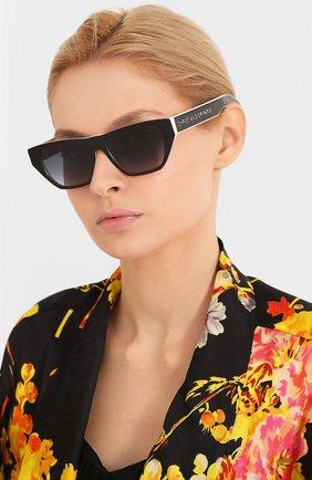 Женские солнцезащитные очки DIOR черного цвета, арт. DI0RINSIDE0UT2 3H2 | Фото 2