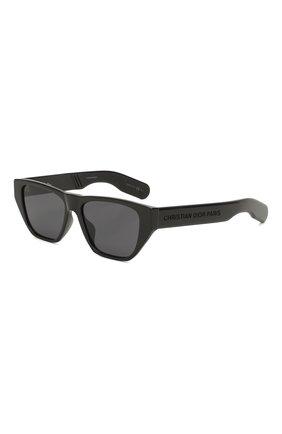 Женские солнцезащитные очки DIOR черного цвета, арт. DI0RINSIDE0UT2 807 | Фото 1