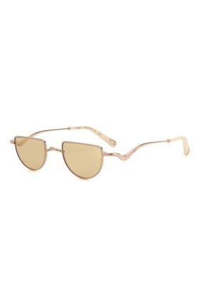 Женские солнцезащитные очки CHLOÉ золотого цвета, арт. 158S-856 | Фото 1