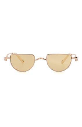 Женские солнцезащитные очки CHLOÉ золотого цвета, арт. 158S-856 | Фото 3