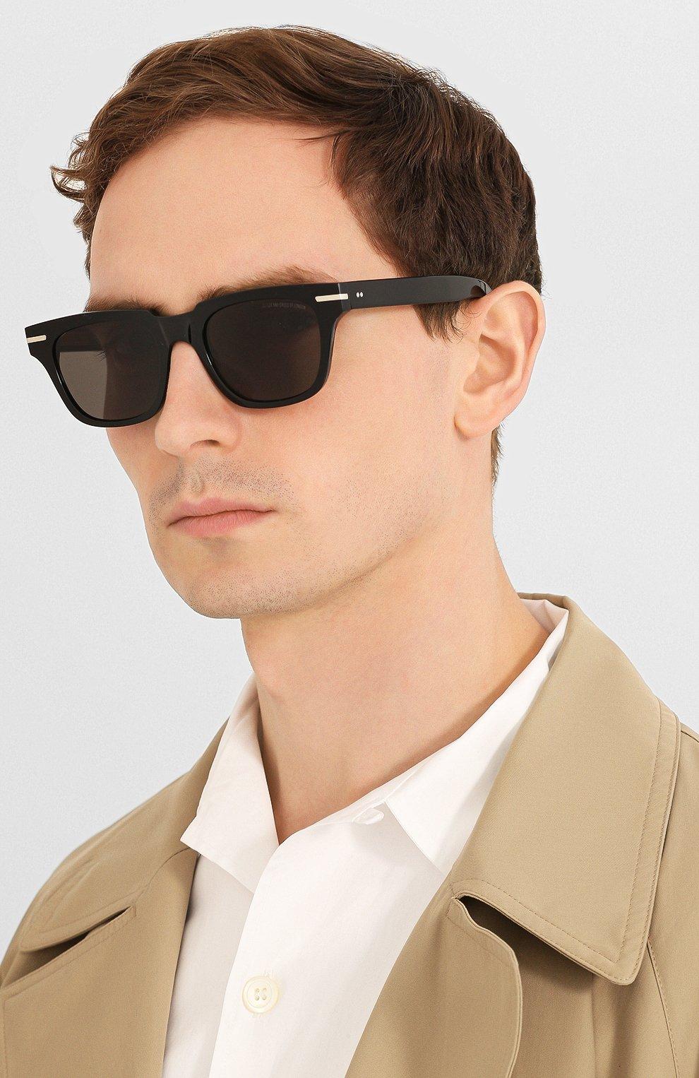 Мужские солнцезащитные очки CUTLERANDGROSS черного цвета, арт. 135505 | Фото 2
