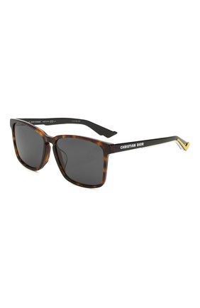 Мужские солнцезащитные очки DIOR коричневого цвета, арт. DI0RB24.2F 086 | Фото 1