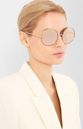 Мужские солнцезащитные очки DOLCE & GABBANA розового цвета, арт. 2215K-K03/5R | Фото 2