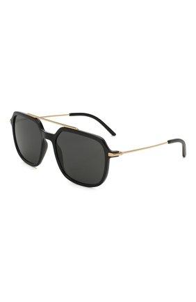 Женские солнцезащитные очки DOLCE & GABBANA черного цвета, арт. 6129-501/87   Фото 1