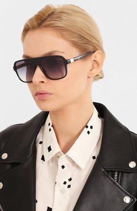 Женские солнцезащитные очки DOLCE & GABBANA черного цвета, арт. 6134-675/79 | Фото 2