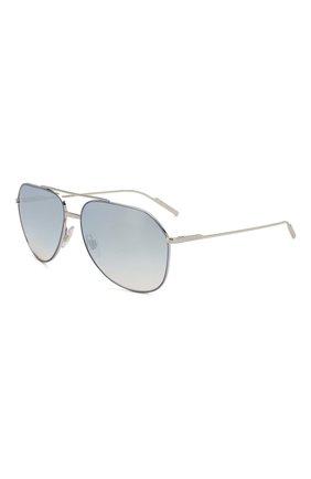 Мужские солнцезащитные очки DOLCE & GABBANA голубого цвета, арт. 2166-1325V6 | Фото 1
