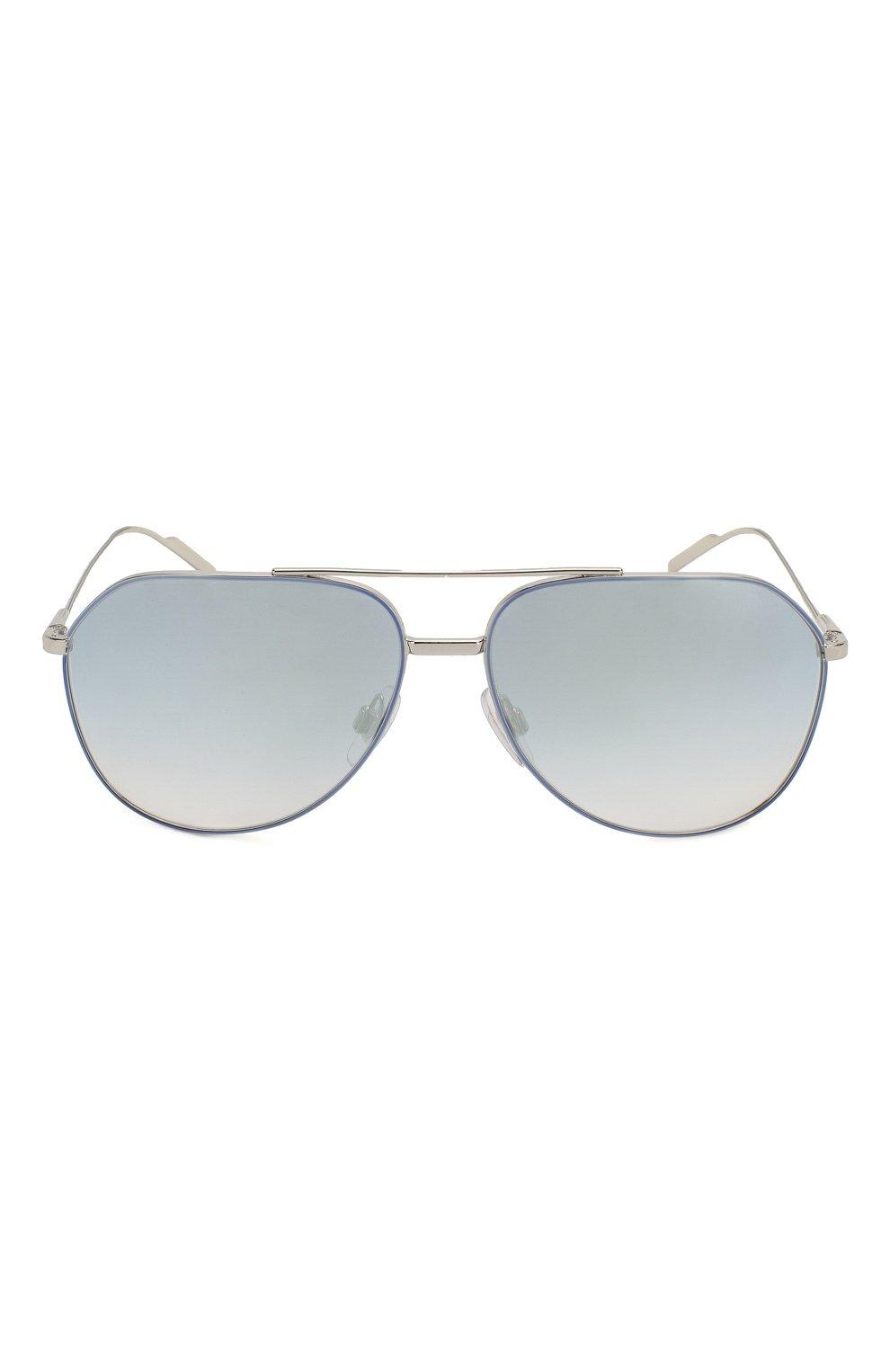 Женские солнцезащитные очки DOLCE & GABBANA голубого цвета, арт. 2166-1325V6   Фото 4