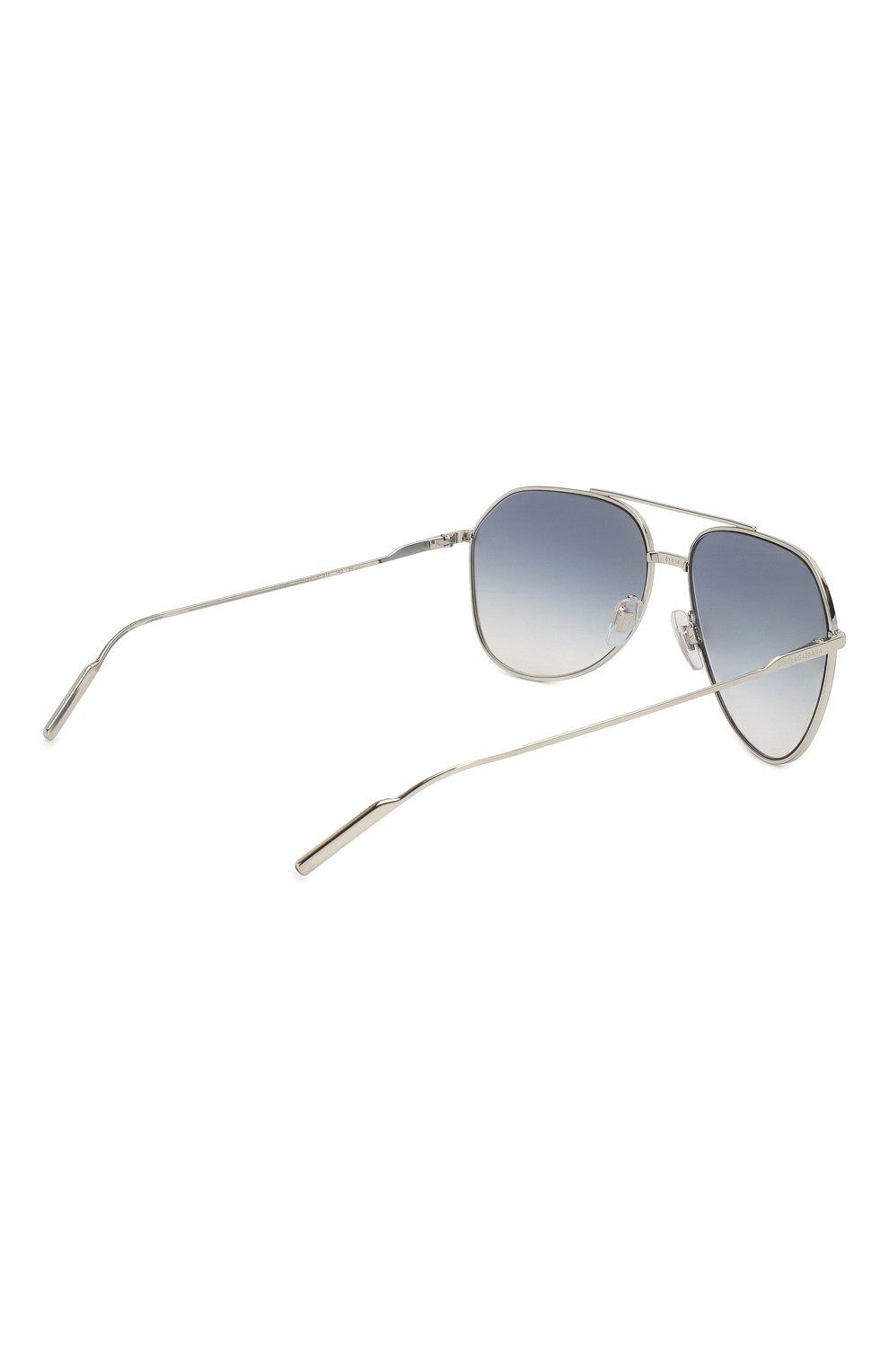 Женские солнцезащитные очки DOLCE & GABBANA голубого цвета, арт. 2166-1325V6   Фото 5