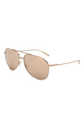 Женские солнцезащитные очки DOLCE & GABBANA золотого цвета, арт. 2166-K03/5R | Фото 1