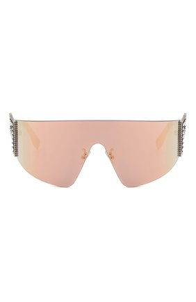 Женские солнцезащитные очки FENDI розового цвета, арт. 0382 35J   Фото 3