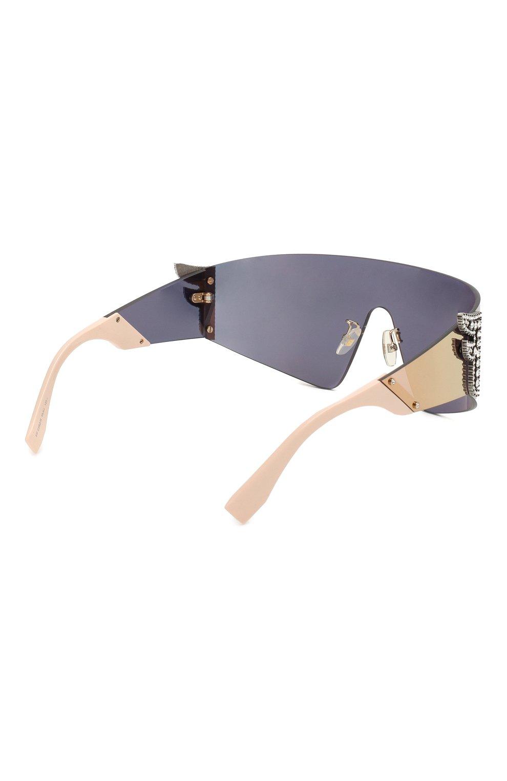 Женские солнцезащитные очки FENDI розового цвета, арт. 0382 35J   Фото 4