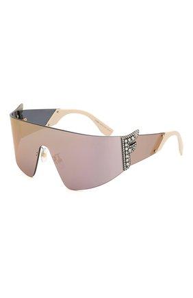 Женские солнцезащитные очки FENDI сиреневого цвета, арт. 0382 J5G | Фото 1