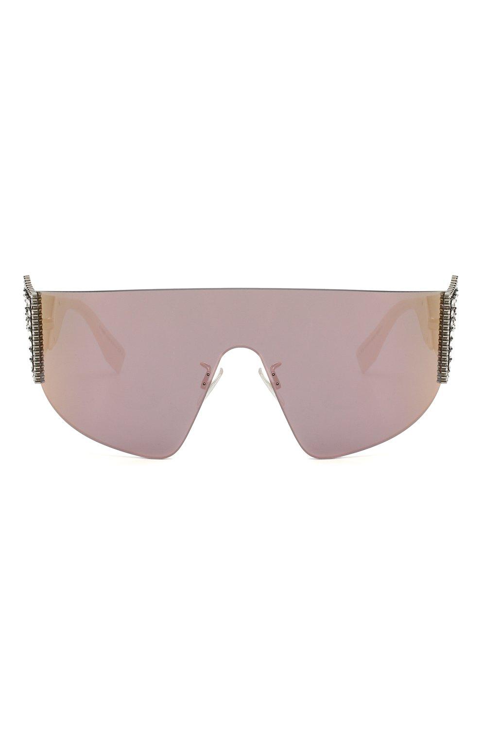 Женские солнцезащитные очки FENDI сиреневого цвета, арт. 0382 J5G | Фото 3