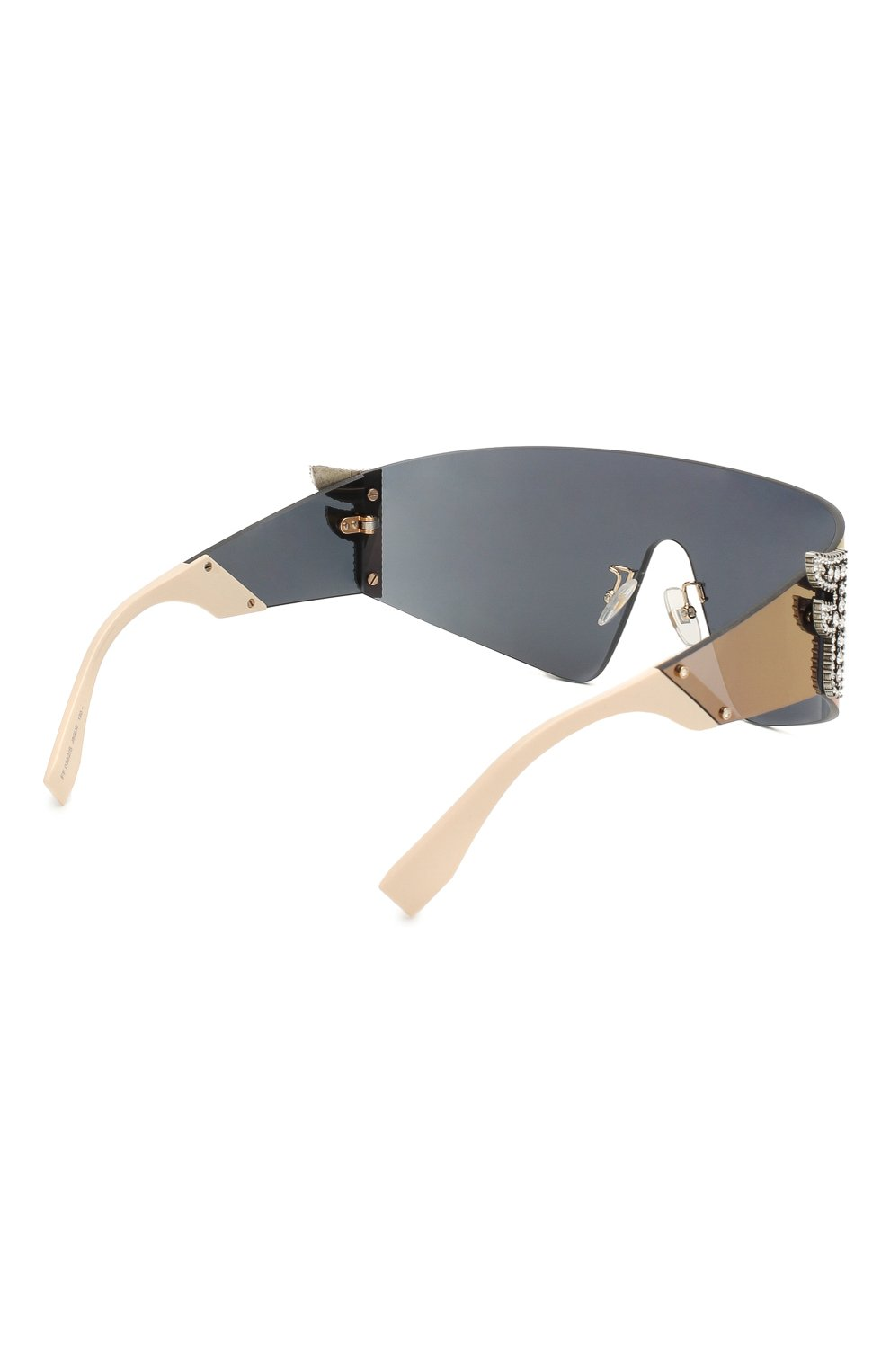 Женские солнцезащитные очки FENDI сиреневого цвета, арт. 0382 J5G | Фото 4