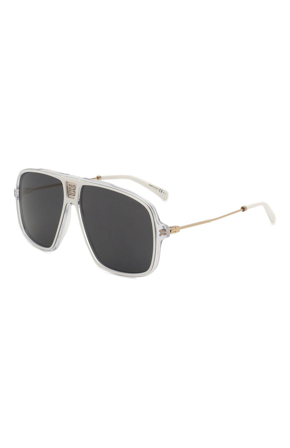 Женские солнцезащитные очки GIVENCHY белого цвета, арт. 7138 P9U | Фото 1