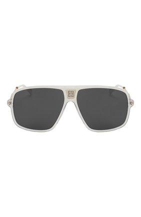 Женские солнцезащитные очки GIVENCHY белого цвета, арт. 7138 P9U | Фото 4