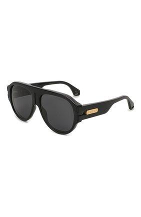 Женские солнцезащитные очки GUCCI черного цвета, арт. GG0665S 001   Фото 1