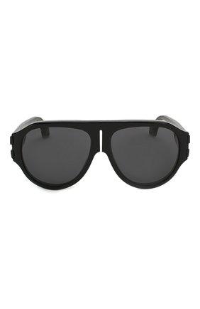 Женские солнцезащитные очки GUCCI черного цвета, арт. GG0665S 001   Фото 4