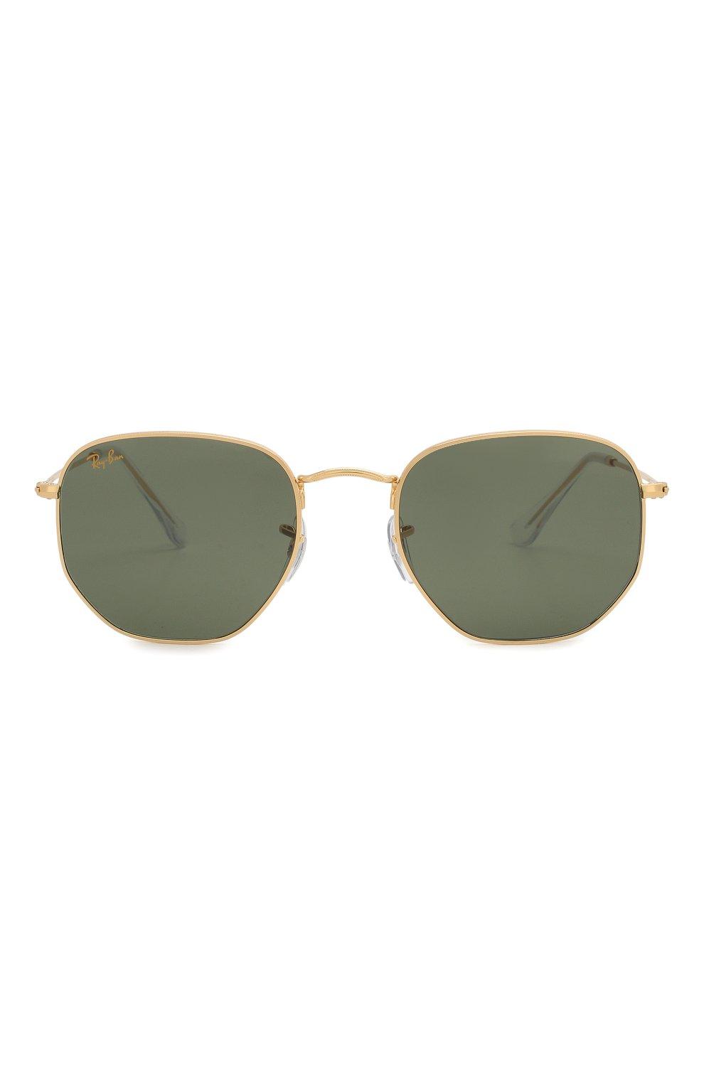 Женские солнцезащитные очки RAY-BAN зеленого цвета, арт. 3548-919631 | Фото 4