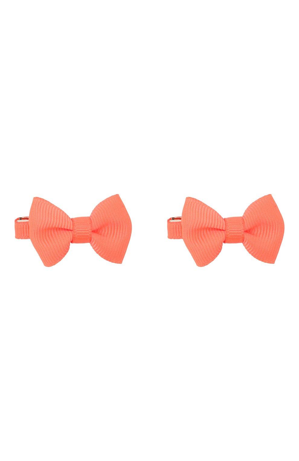 Детская комплект из 2-х заколок JUNEFEE оранжевого цвета, арт. 6400 | Фото 1