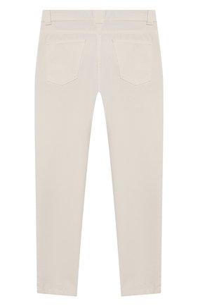 Детские джинсы LORO PIANA белого цвета, арт. FAI9364 | Фото 2