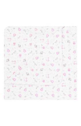 Детского хлопковая пеленка MAGNOLIA BABY розового цвета, арт. 649-80P-PK | Фото 1
