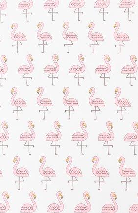 Детского хлопковая пеленка MAGNOLIA BABY розового цвета, арт. 891-80P-PK | Фото 2 (Материал: Текстиль, Хлопок)