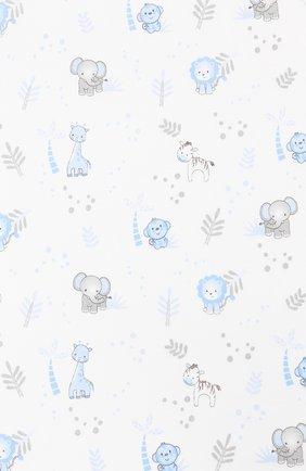 Детского хлопковая пеленка MAGNOLIA BABY голубого цвета, арт. 649-80P-LB | Фото 2