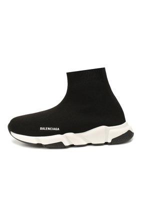 Детские кроссовки BALENCIAGA черно-белого цвета, арт. 597425/W1702 | Фото 2