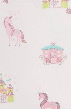 Детского хлопковая пеленка KISSY KISSY розового цвета, арт. KG3044500   Фото 2