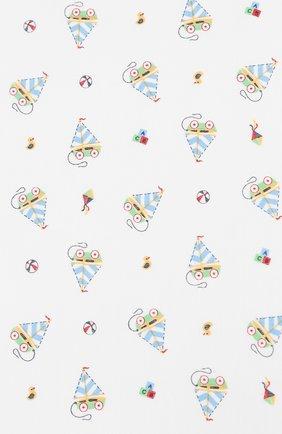 Детского хлопковая пеленка MAGNOLIA BABY голубого цвета, арт. 837-80P-LB | Фото 2