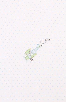 Детского хлопковая пеленка MAGNOLIA BABY голубого цвета, арт. 597-52-LB | Фото 2
