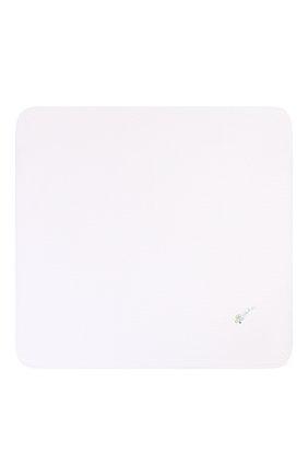 Детского хлопковая пеленка MAGNOLIA BABY голубого цвета, арт. 597-52-LB | Фото 3 (Материал: Текстиль, Хлопок)