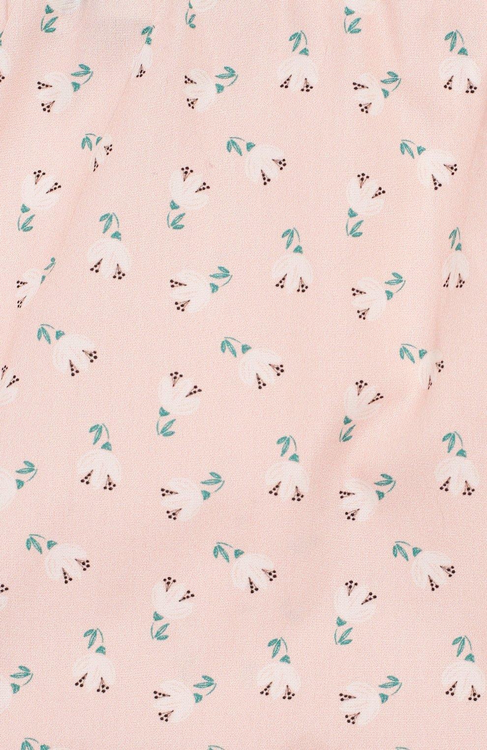 Детские хлопковые шорты LES LUTINS розового цвета, арт. 20E192/BL00MER   Фото 3