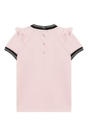 Детский комплект из футболки и брюк MONCLER розового цвета, арт. F1-951-8M710-10-8790A | Фото 3